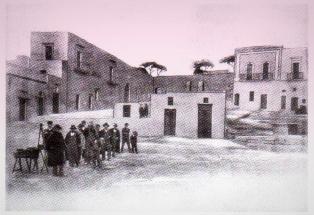 La Piazza prima dei lavori del 1912